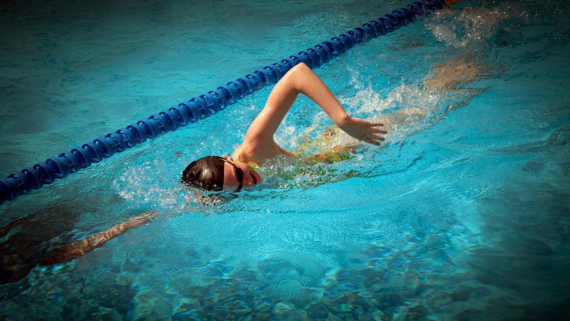 swimming-line